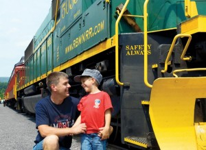 Father-Son-Train-Ride