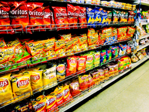 chips at supermarket