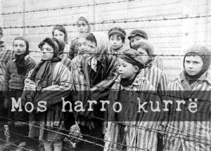 Child-survivors-photographed-at-Auschwitz-in-1945