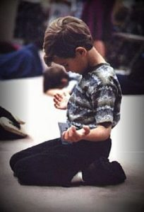 Child Worshiping 3 June