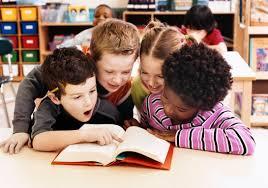 Child Reading 4 June
