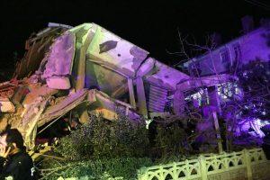 Një tërmet me godet Turqinë